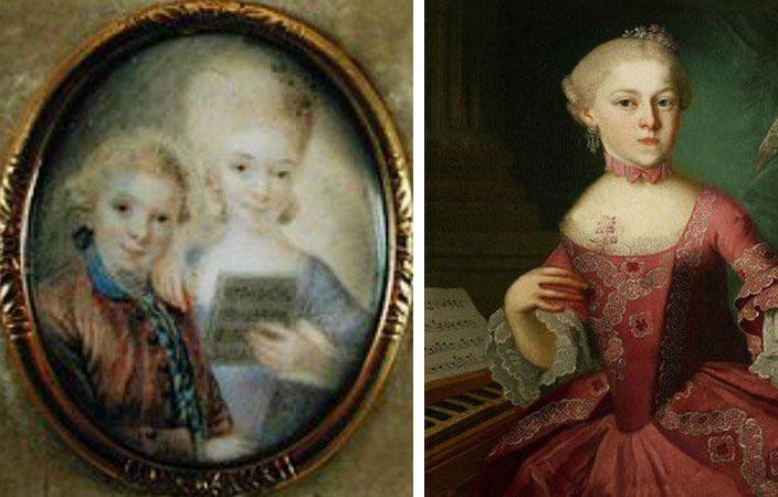 сестра Моцарта, Мария Анна Моцарт Наннерль nannerl