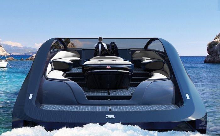 Bugatti спортивная яхта Niniette 66
