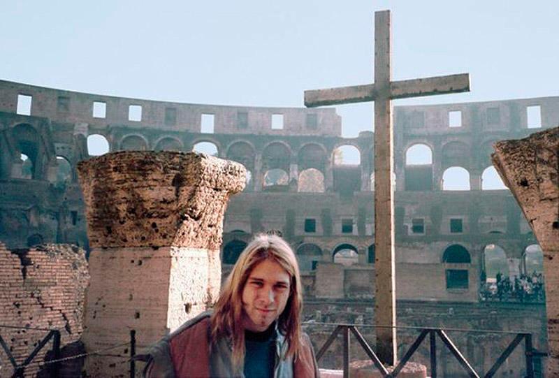Курт Кобейн Колизей, 1989 год nirvana