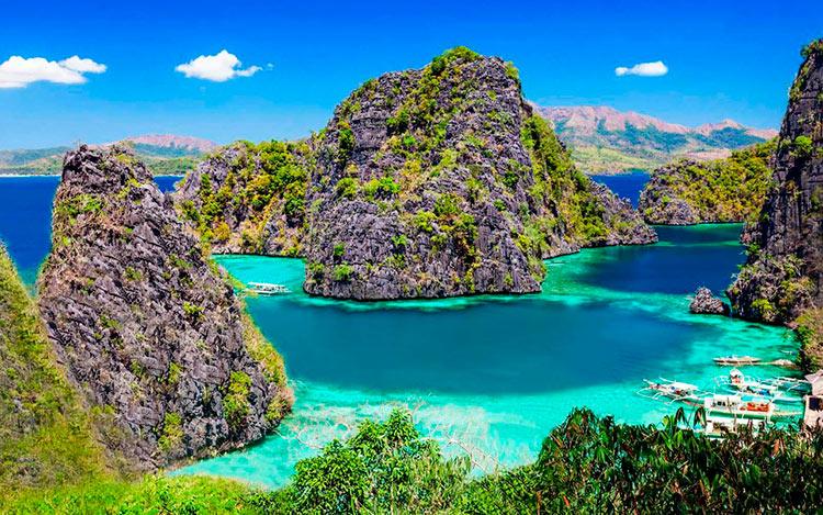 13 мест с самой красивой водой на планете Палаван Филиппины