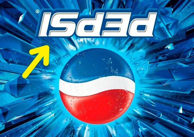 Символы, спрятанные в известных логотипах Pepsi