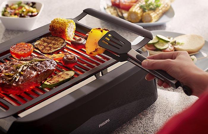 оригинальные подарки для любителей готовить гриль philips indoor grill