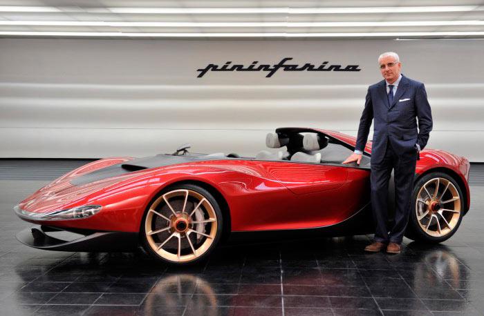 Самые дорогие автомобили pinifarina