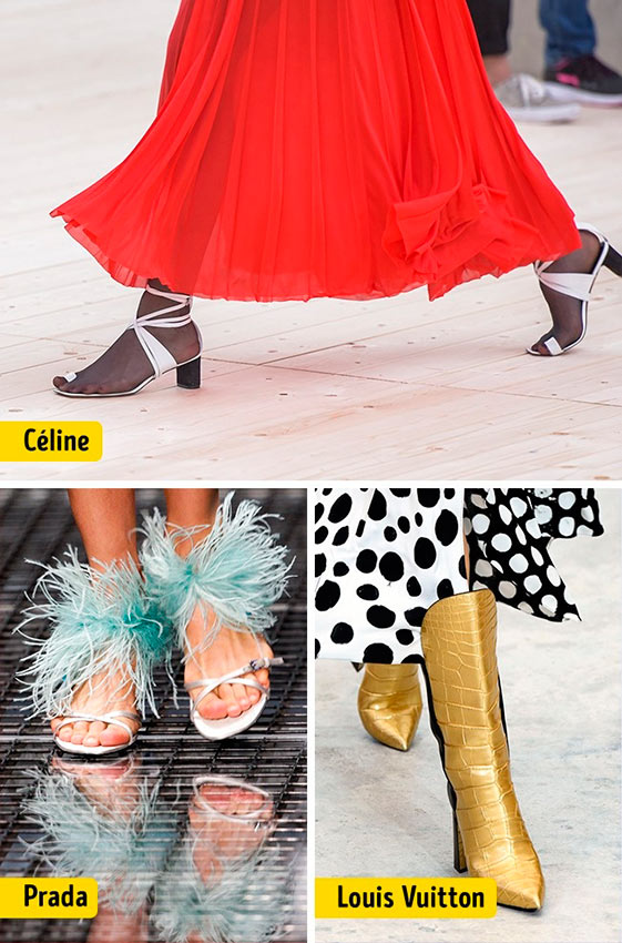 Chanel Louis Vuitton Céline Dolce&Gabanna Prada Christian Dior ткани мода shoes