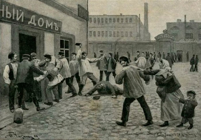 Трезвеннические бунты: как в России люди добровольно отказывались выпивать