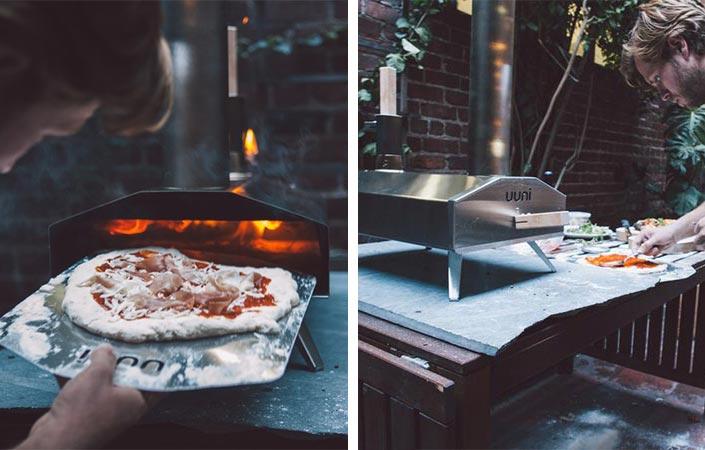 оригинальные подарки для любителей готовить портативная кухня uuni 2S oven
