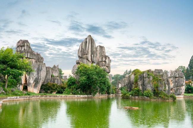 аномальные места на нашей планете Каменный лес, Китай