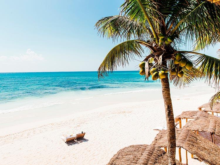 Крутые пляжи Мексики Тулум