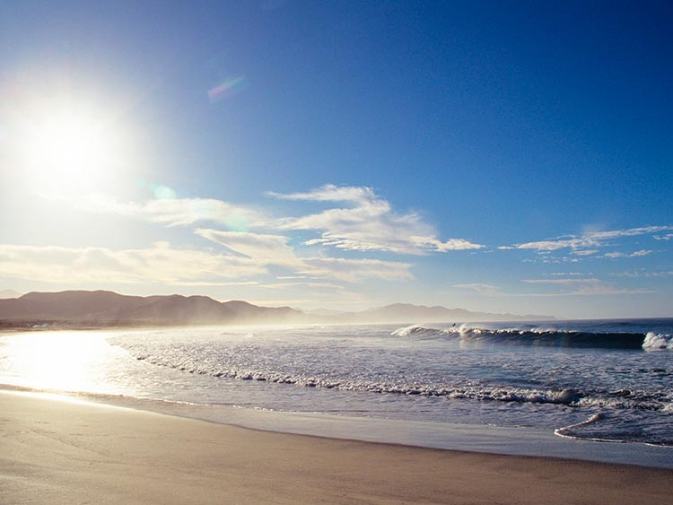 Крутые пляжи Мексики Playa Los Cerritos, Тодос-Сантос