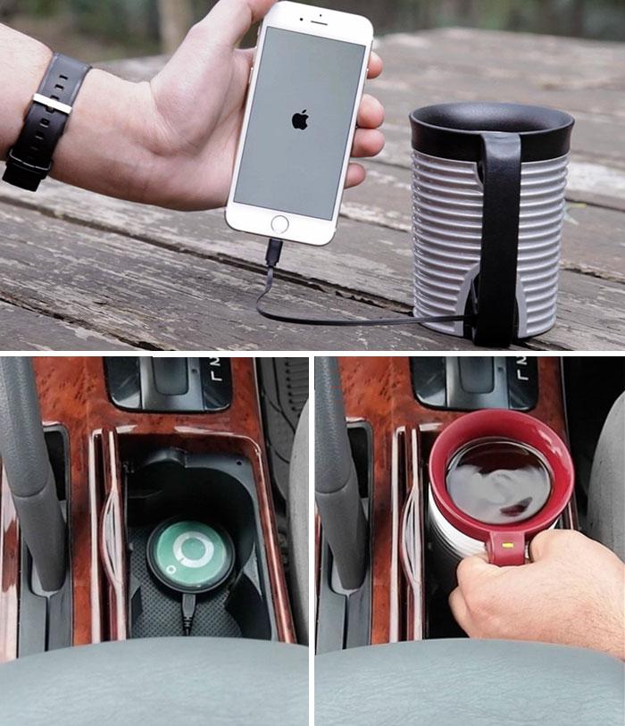Подарки для любителей кофе кружка-термос
