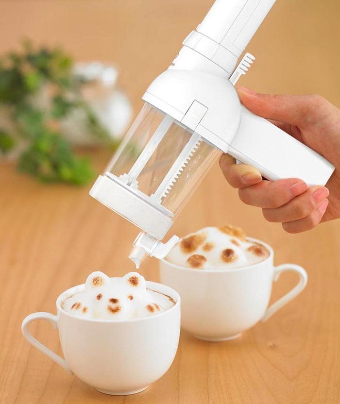 Подарки для любителей кофе аппарат для создания 3D-пенки для латте