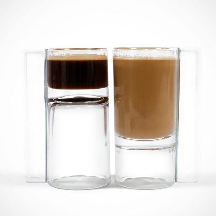 Подарки для любителей кофе кружка для эспрессо и кофе с молоком