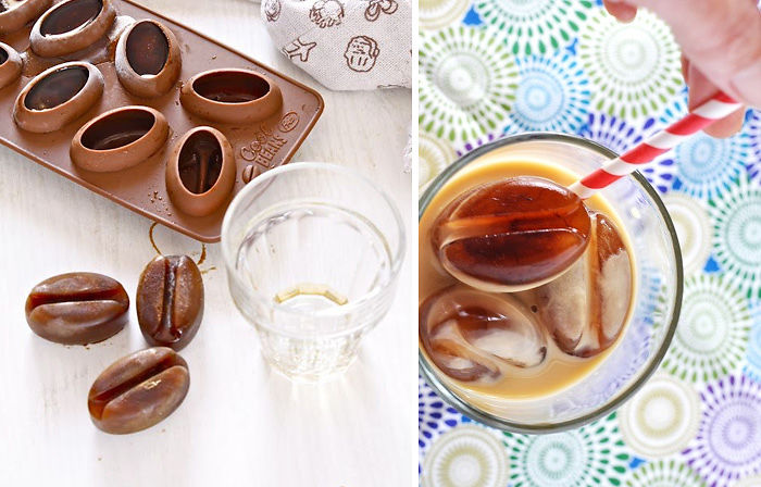 Подарки для любителей кофе формочки для кофейного льда