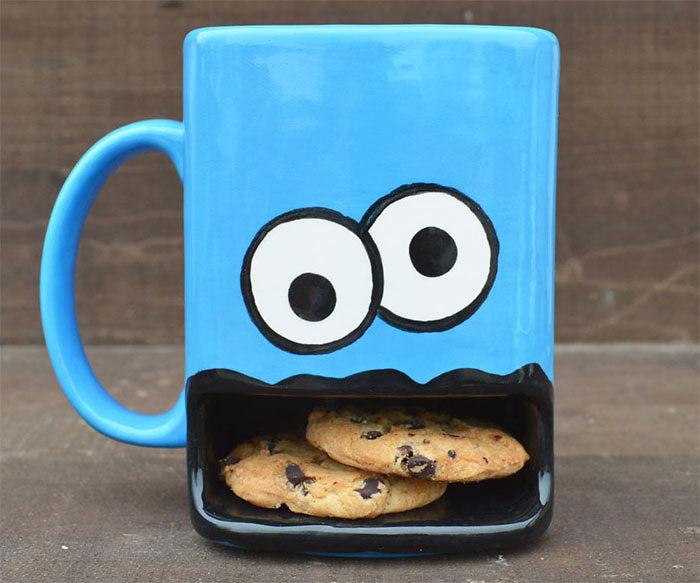 Подарки для любителей кофе бисквитный монстр