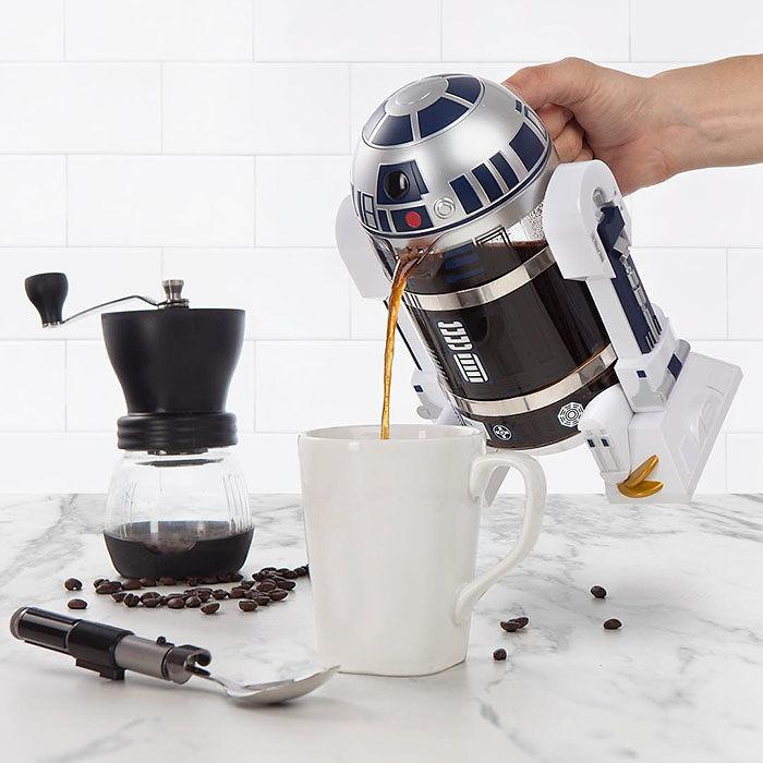 Подарки для любителей кофе R2-D2 френч-пресс Для поклонников Звездных войн