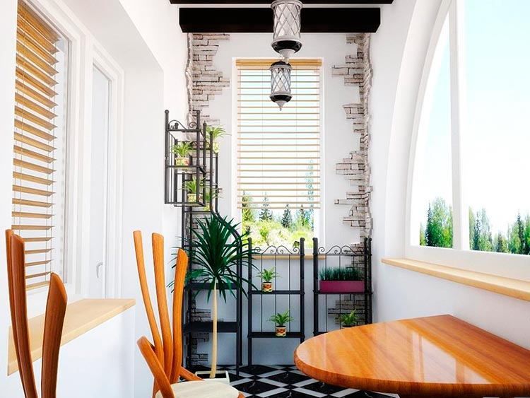 Дизайн балкона: как объединить, превратить в спальню или просто сделать красивым