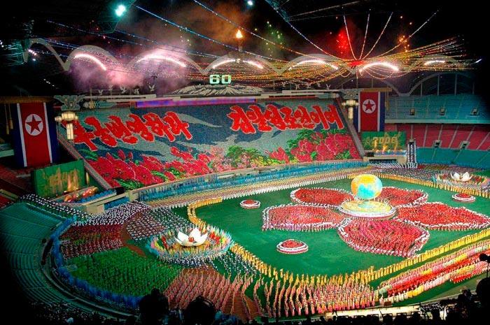 Факты о Северной Корее КНДР – самый большой в мире стадион