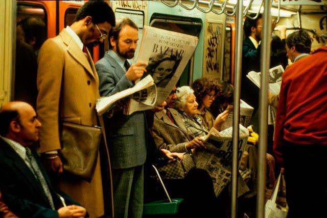 Удивительные фотографии Нью-Йоркского метро: Ад на колесах