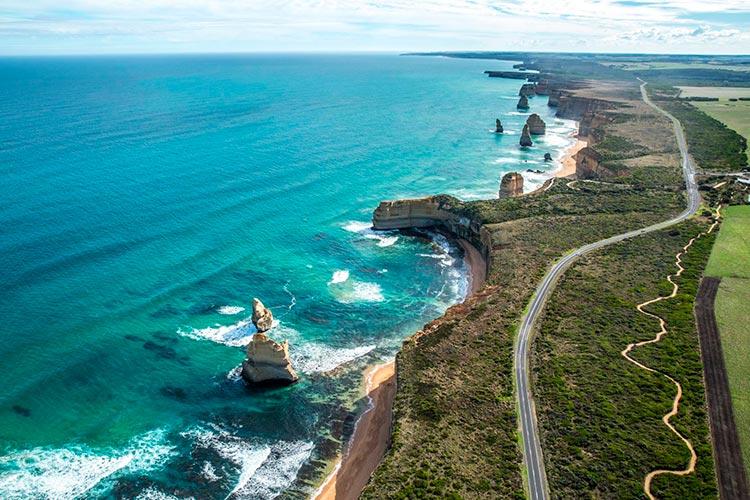 Захватывающие дороги Великая океанская дорога, Австралия