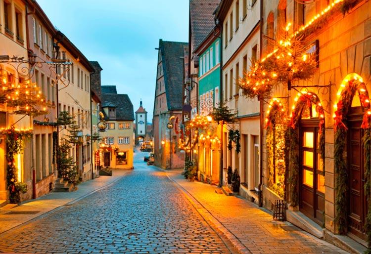 Захватывающие дороги Романтическая дорога, Германия.