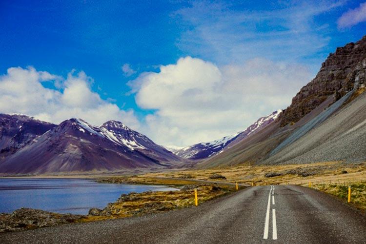 Захватывающие дороги Окружная дорога, Исландия.