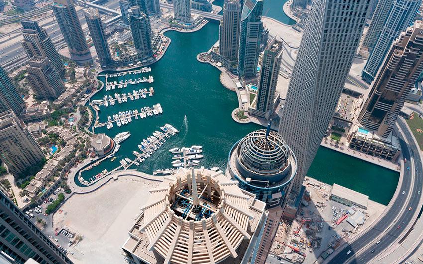 Немыслимый Дубай Марина Princess Tower photos dubai