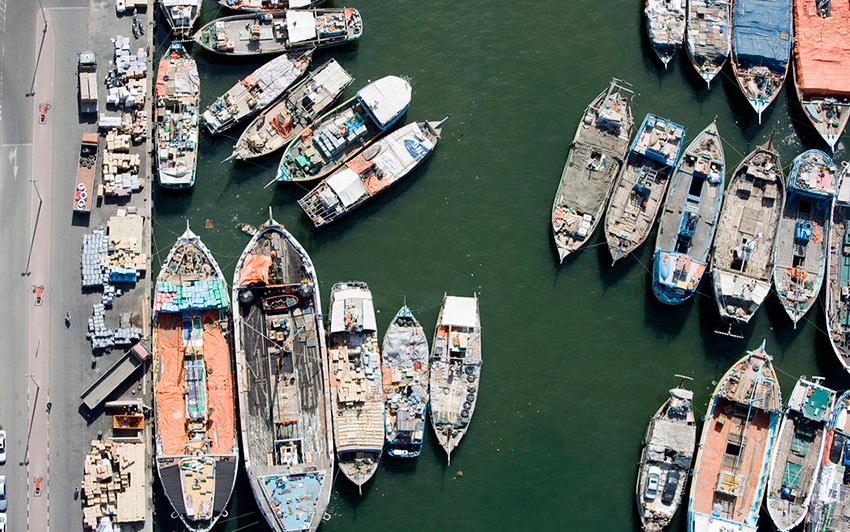 Немыслимый Дубай Марина лодки пристань photos dubai