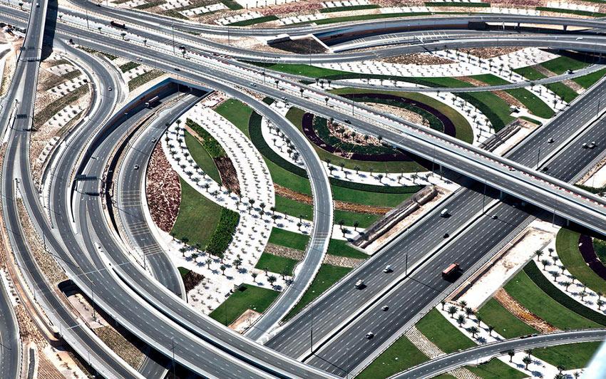 Немыслимый Дубай Транспортная развязка photos dubai