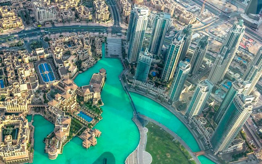 Немыслимый Дубай Озеро Бурдж-Халифа photos dubai