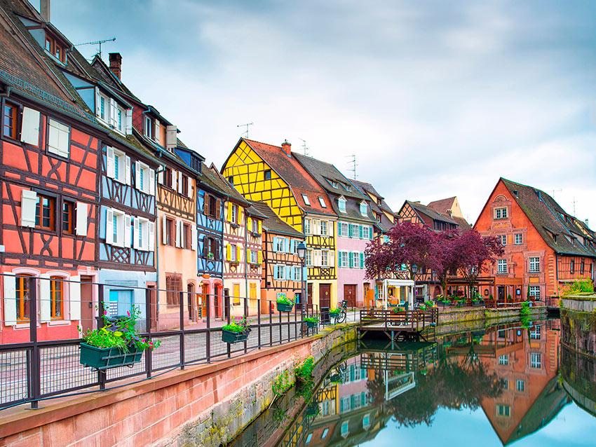 Самые красивые маленькие городки Франции Кольмар