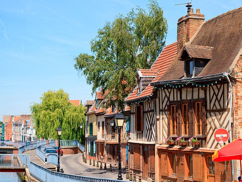 Самые красивые маленькие городки Франции Амьен