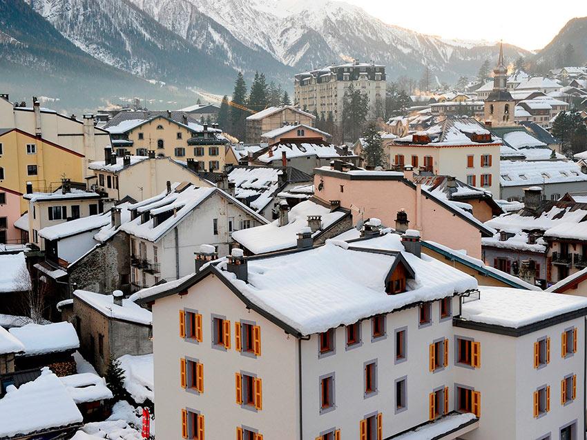 Самые красивые маленькие городки Франции Шамони