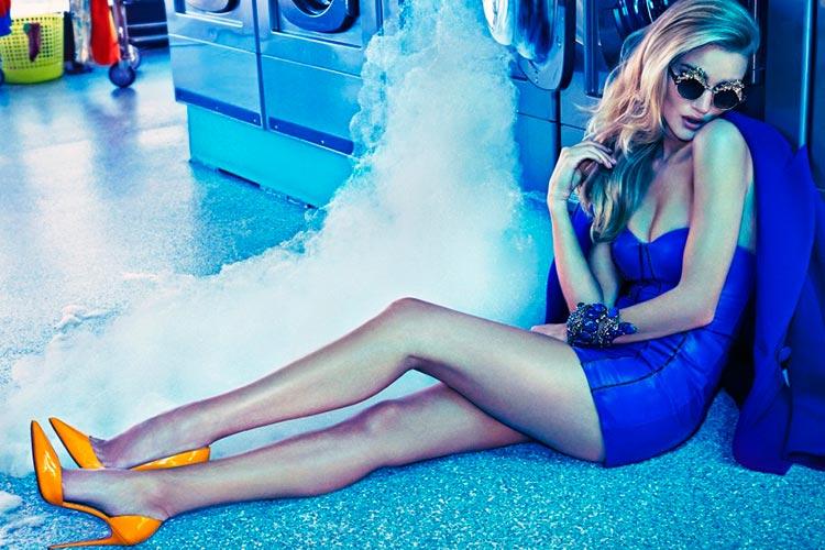 Эффектные супермодели в модных фотографиях Джеймса Макари