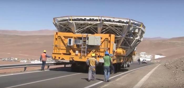 Огромные зеркала для огромного телескопа.
