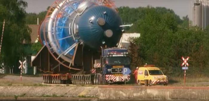 самые масштабные транспортные операций в истории человечества ядерный реактор
