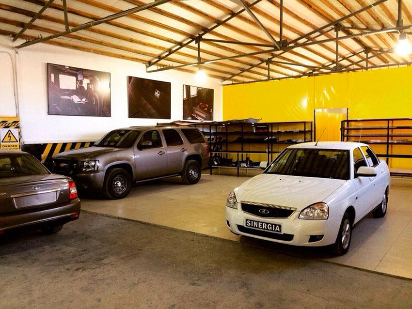 Один из лучших вариантов доработки салона Lada Priora