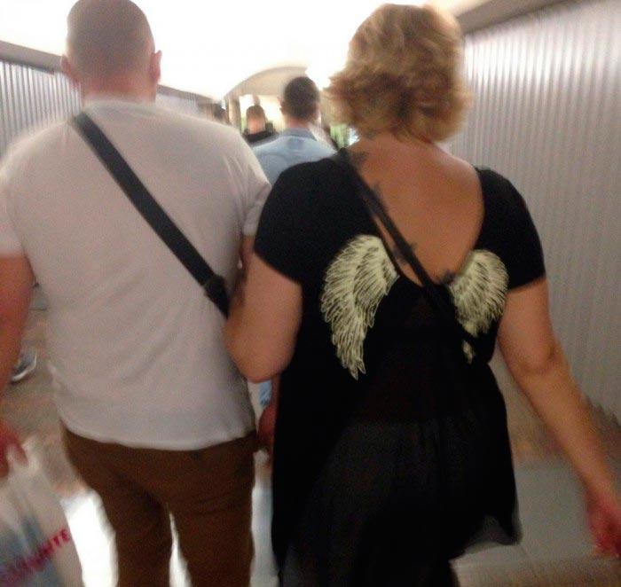 Модные граждане из российского метро