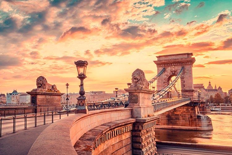 Замечательная Венгрия Цепной мост Сечени
