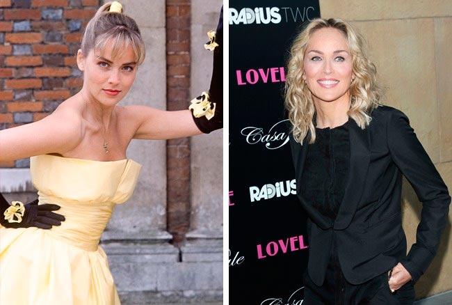 15 знаменитых актрис, в начале своей карьеры работали моделями  Шэрон Стоун