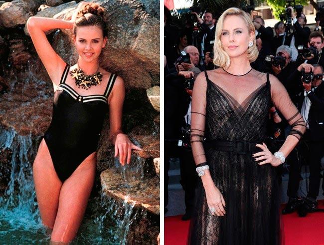 15 знаменитых актрис, в начале своей карьеры работали моделями Шарлиз Терон