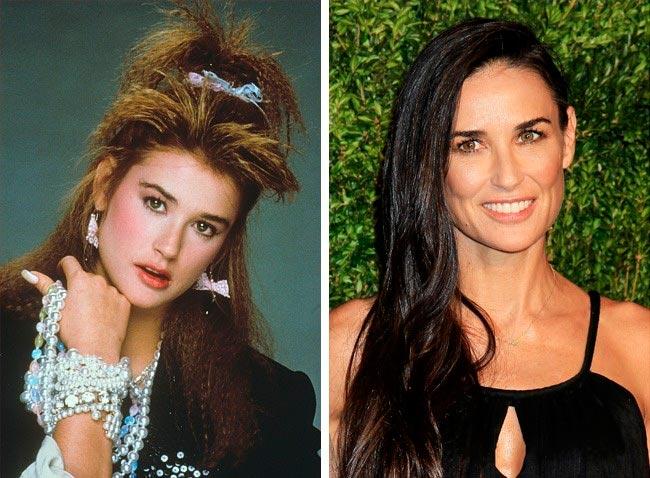 15 знаменитых актрис, в начале своей карьеры работали моделями Деми Мур