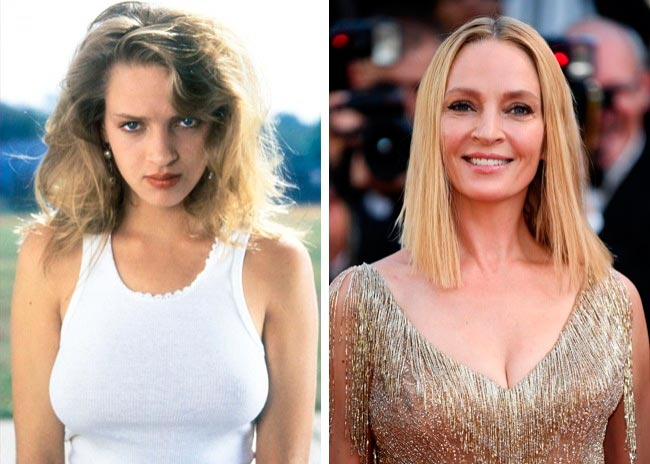 15 знаменитых актрис, в начале своей карьеры работали моделями Ума Турман