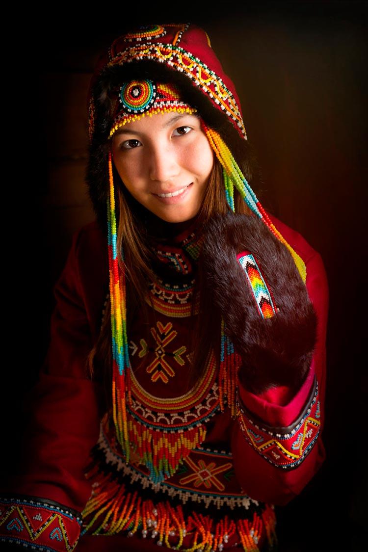 Коренные народы Сибири Представительница долганской народности