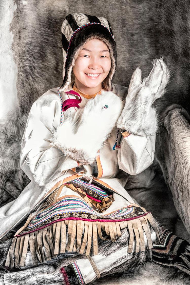 Коренные народы Сибири Девушка из юкагиров