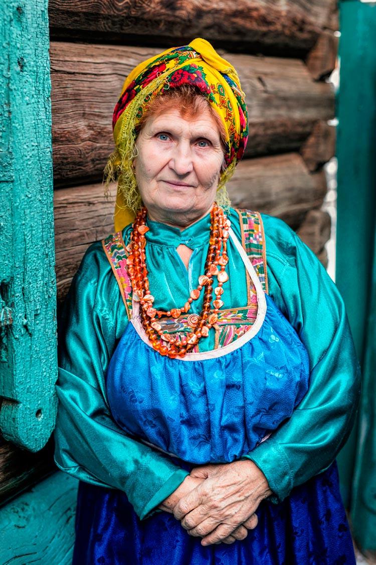 Коренные народы Сибири Женщина из старообрядцев семейских