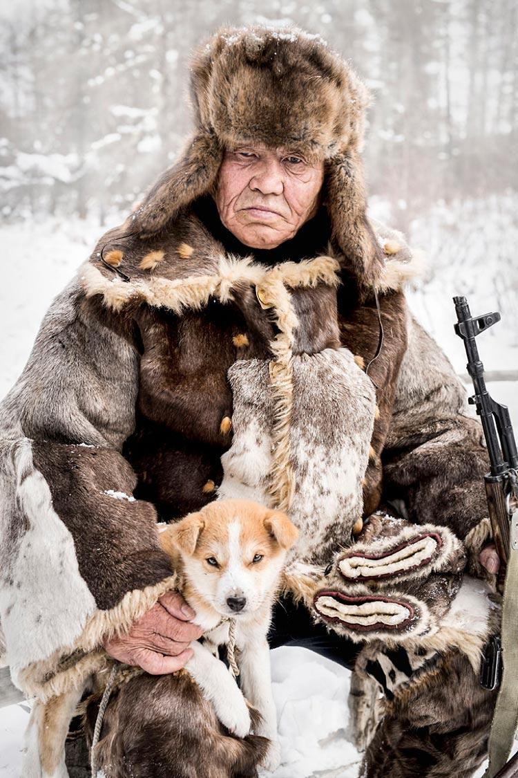Коренные народы Сибири Эвенкийский старейшина