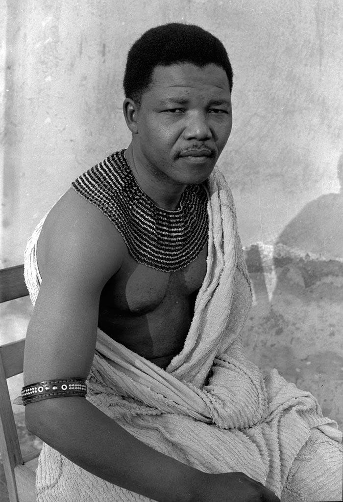 Портреты мировых лидеров Нельсон Мандела