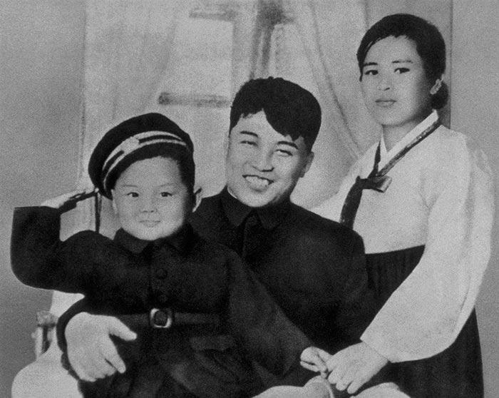 Портреты мировых лидеров Ким Чен Ир