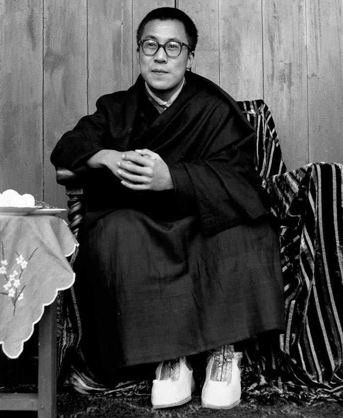 Портреты мировых лидеров Далай-лама XIV