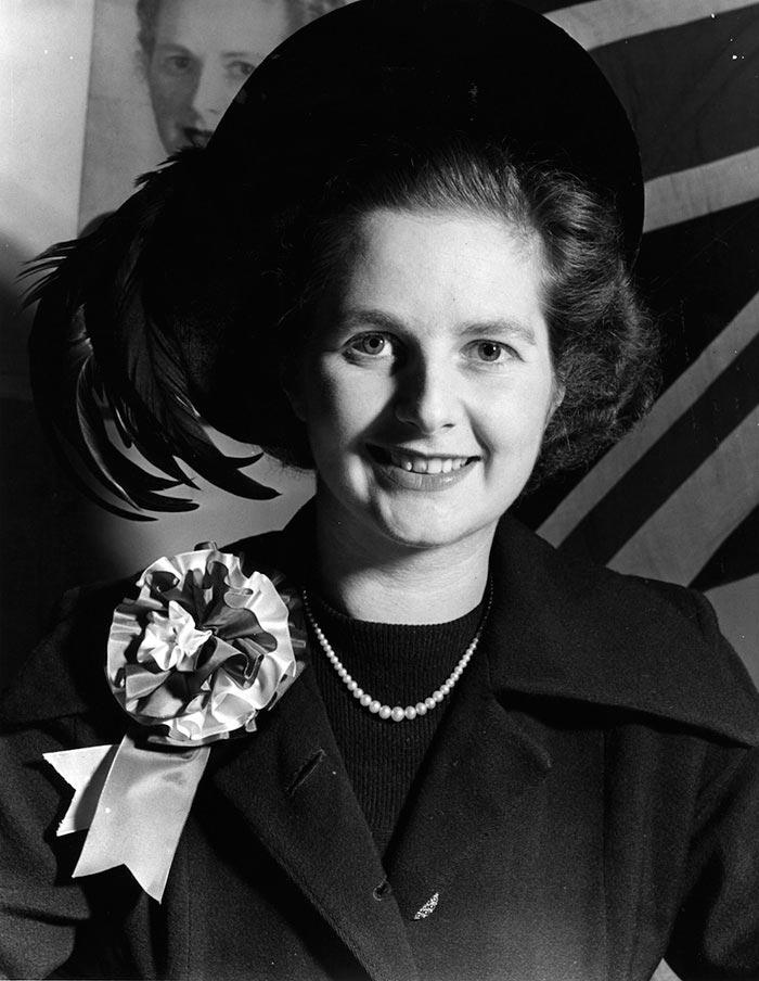 Портреты мировых лидеров Маргарет Тэтчер